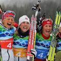 Norvég győzelem a nők stafétáján