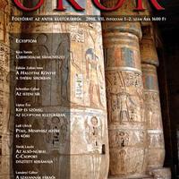 Megjelent az Ókor tematikus Egyiptom és Núbia száma
