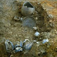 Egy fantasztikus római üvegtál Londonból