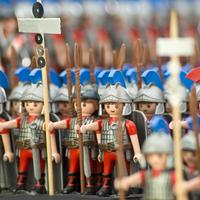 Tizenötezer fős római sereg Németországban
