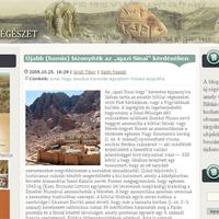Bibliai régészet - blogajánló