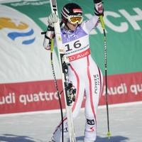 Elisabeth Görgl a vb első aranyérmese