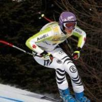 Maria Riesch nyert, Vonn majdnem bukott Cortinában