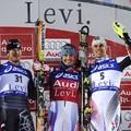 Francia műlesikló-győzelem Leviben