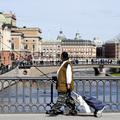 Horgászverseny Stockholm központjában