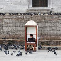 Foglalkozás Isztambulban - magárus