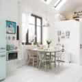 Kicsi, de tökéletes svéd apartman