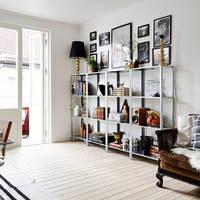 Bűbájosan egyszerű és nagyszerű svéd apartman