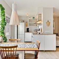 Kicsi, hangulatos kompakt apartman Svédországból - ezt látni kell