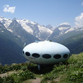 Őrült UFO ház Finnországból - éljen a retro-futurizmus