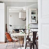 Bohém és vintage stílusú svéd lakás