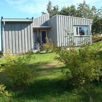 Kívül egyszerű, belül nagyszerű norvég nyaraló faház
