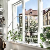 Apró, de fantasztikusan helyes lakás Svédországból