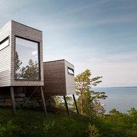Egy ultramodern norvég nyaraló