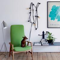 Nézzünk be egy dán műsorvezető, dizájner, építész otthonába