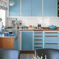 Retro konyha Svédországból - éljenek a színek