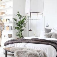 Így néz ki a tökéletes svéd hálószoba