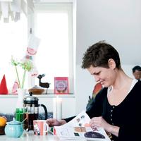 Dán festőművésznő mesebeli karácsonyi otthona