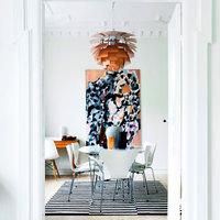 Egy kötögetős dán művésznő otthonában
