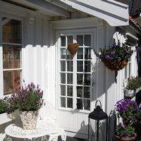 Kicsi ház a tengerparton - hangulatos és családias norvég faház