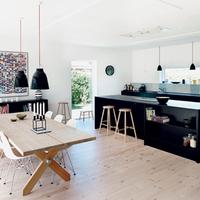 Egy modern álomház a vidéki Dániából