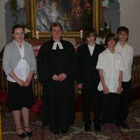 Konfirmadusok 2010 pünkösdjén