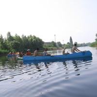Vízitúrázás a Békatutaj Egyesülettel (2009.07.04)