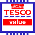 Tesco value - quality guaranteed