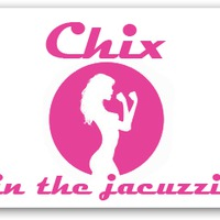 Chix in the jacuzzi