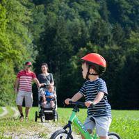 Futó kerékpár kicsiknek és nagyobbaknak