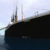 Még vízen a Titanic