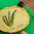 Spárgás pâte brisée, egy piknik tökéletes kelléke