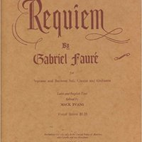 _ONLINE_ Requiem For Soprano And Baritone Soli, Chorus And Orchestra - Vocal Score. Chevron nuestra several question Letter together