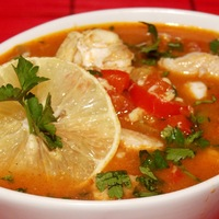 Mint hal a.... levesben!