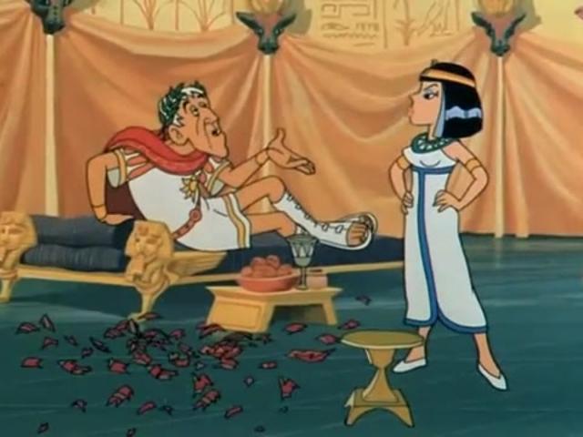 Asterix meghódítja Egyiptomot is: Asterix és Kleopátra