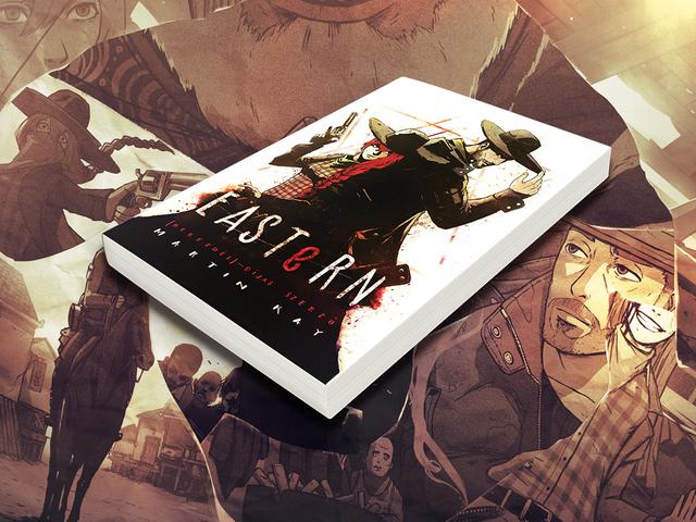 Manga western, regény köntösben - Eastern, a bestseller!