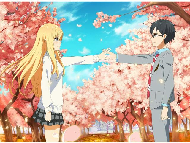 A zsenik tragédiája: Your Lie in April