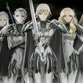Ezüstszemű boszorkányok a démonok ellen: Claymore