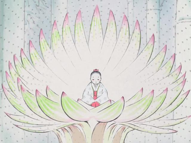 Japán mese Bambuszka hercegnőről a folklór világából