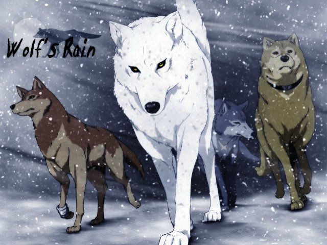 A Paradicsom a farkasoké - Wolf's Rain