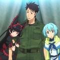 Sárkányok, tankok és helikopterek - Gate: fantasy és sci-fi anime