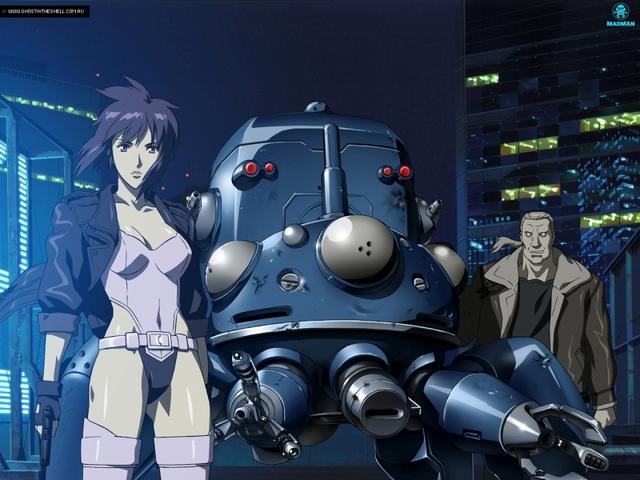 Vérbeli cyberpunk krimisorozat - Ghost in the Shell: Stand Alone Complex - 1. évad