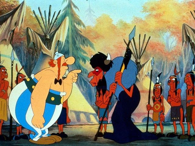 Asterix az Új Világba is követi Getafixet