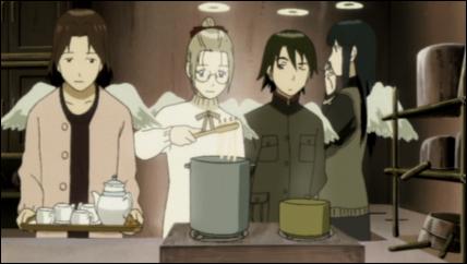 nemu_hikari_kana_and_reki_stand_in_the_kitchen.png