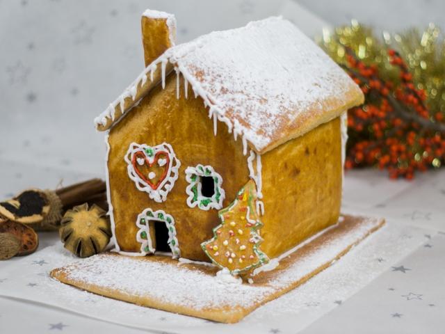 Havas karácsonyi mézeskalács házikó Smarta konyhájából - VIDEÓVAL!