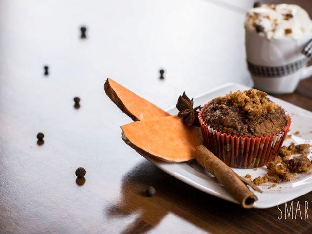 Gluténmentes édesburgonya muffin Smarta konyhájából VIDEÓVAL