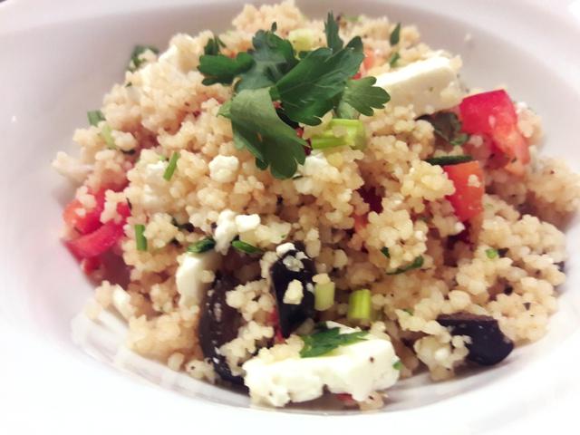 Mediterrán kuszkusz saláta Smarta konyhájából