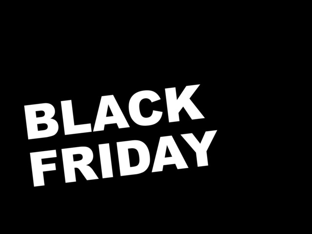 9 pro tipp Black Friday-ra