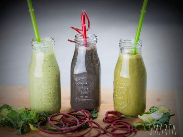 3 zöld smoothie, hogy tökéletes formában várd a tavaszt