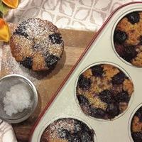 Meggyes-banános fitt muffin reggelire Smarta konyhájából